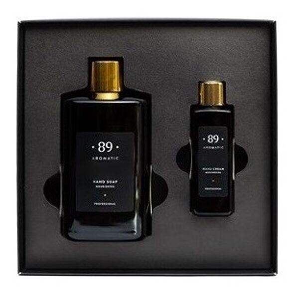 AROMATIC • 89 • INOOP SET HAND CREAM HAND SOAP Dāvanu komplekts