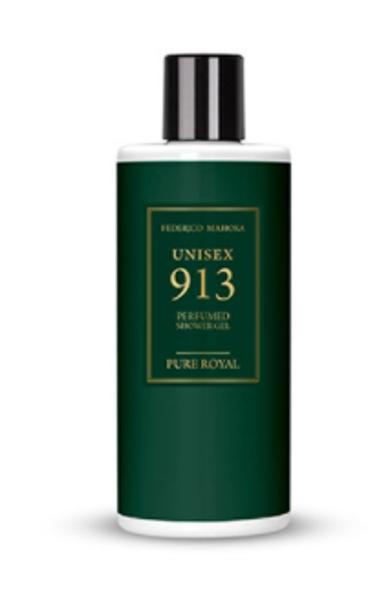 913 FM PURE ROYAL PERFUMED SHOWER GEL UNISEX Parfimēta dušas želeja, 300ml (=SOLEIL BLANC Tom Ford)