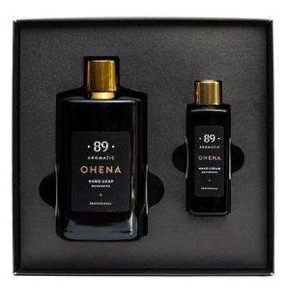 AROMATIC • 89 • OHENA SET HAND CREAM HAND SOAP Dāvanu komplekts